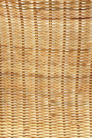 Texture background - golden rattan weaving