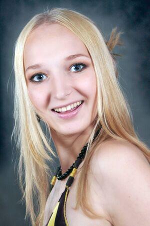 Beautiful Russian young woman.