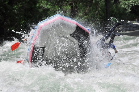 raft: Rafting, extreme and fun sport