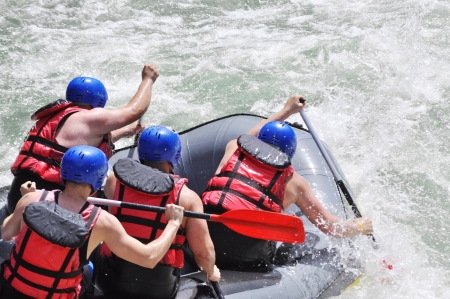 Rafting, Extrem-und Fun-Sport