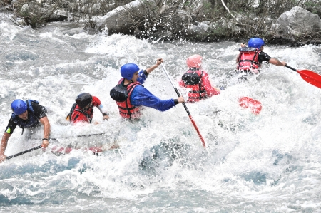 raft: Rafting as extreme and fun sport