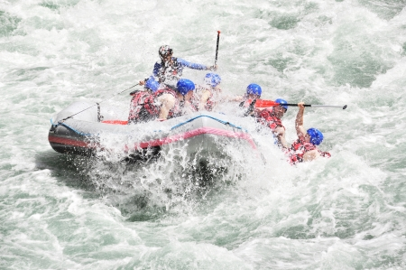 Rafting, extreme, team, sport, fun, active, relax