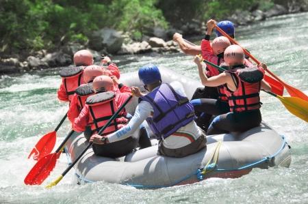 Rafting als extreme und Fun-Sport