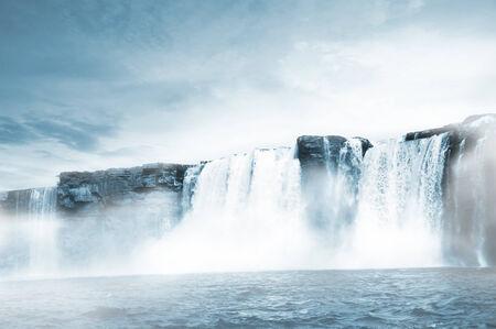 resourse: Chitrakote Waterfall Stock Photo