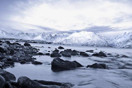 fjords: Fjords in Norway near Skibotn