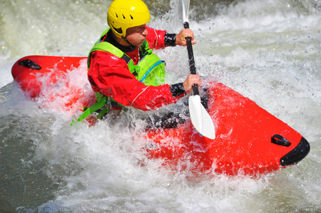 Kayaking extreme und Fun-Sport