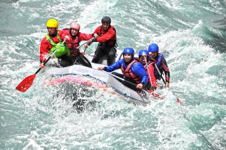 bateau: Rafting