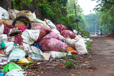Illegale Müll dumm Lizenzfreie Bilder