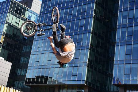 BMX Trick Biker
