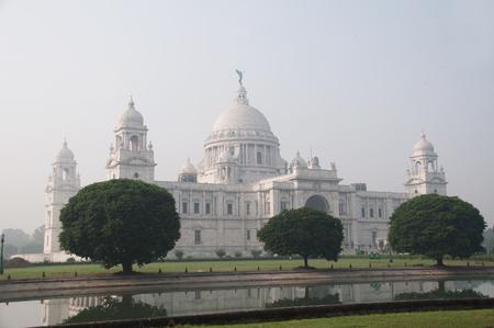 Victoria Memorial in Kolkata Indien Lizenzfreie Bilder