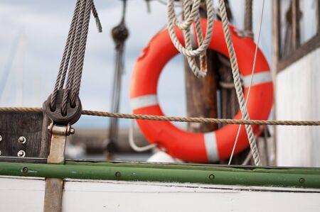 Segelyacht Detail Lizenzfreie Bilder
