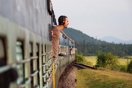 Reisen mit dem Zug in Asien
