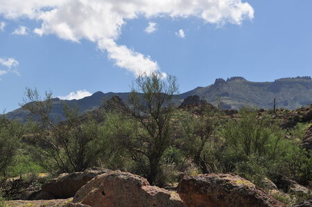 Superstition Mountain photo