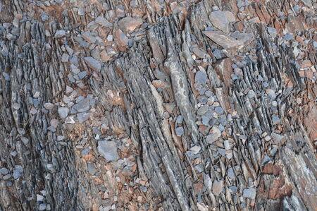 Dromerige Draw Arizona, Slate Rock Stockfoto