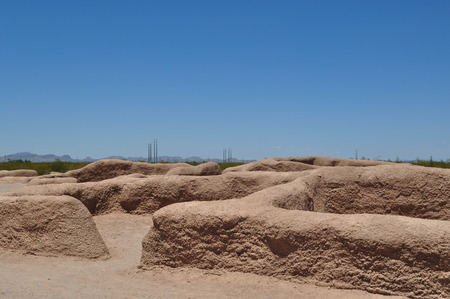 grande: Casa Grande Ruins, old with the new