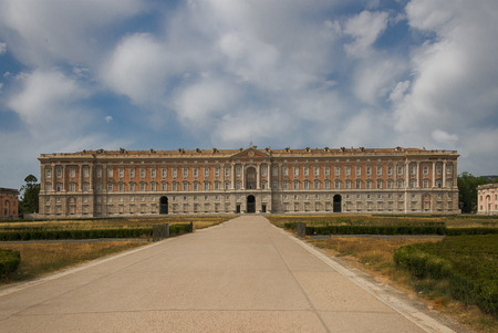 The Royal Palace of Caserta or Reggia di Caserta. Italy