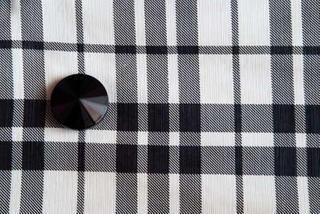 Button on the old clothes