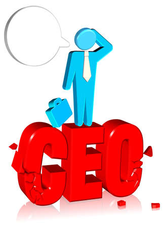 Business Concept Three dimension style and High Quality Image Stock Photo
