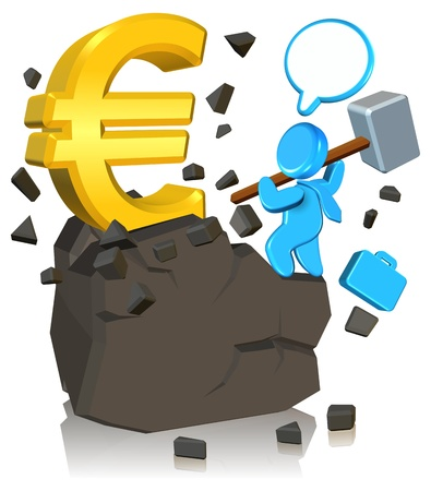 pursuing: Pursuing Money Three dimension style and High Quality Image Stock Photo