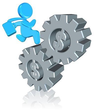 Inspiration Business Three dimension style and High Quality Image Stock Photo