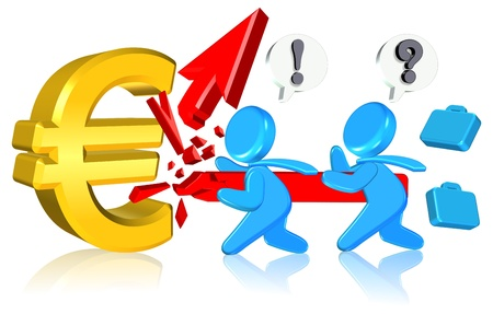 Currency Business  Three dimension style and High Quality Image Stock Photo