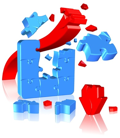 Jigsaw Puzzle Three dimension style and high quality image