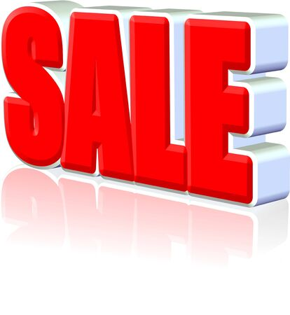 Sale three dimension  style and high quality image Stock Photo