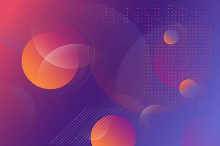 Abstract Background with Vibrant Gradient for Banner, Flyer, Cover, Business Presentation.