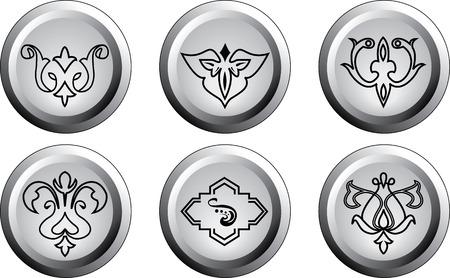 ethno: the ethnic symbol button