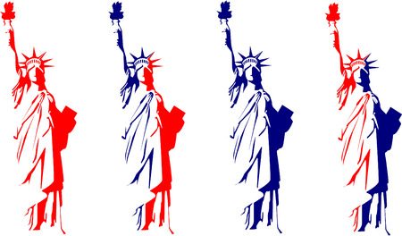 liberty: Statue of Liberty Illustration