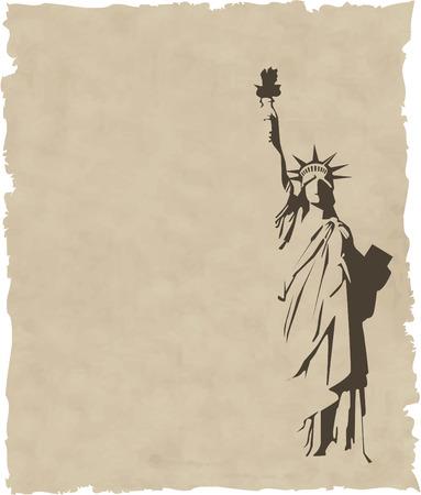 replica: Statue of Liberty Illustration