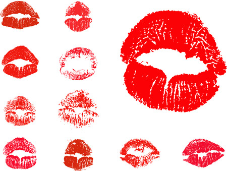vector kiss icons Vector