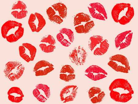 vector kiss background Vector
