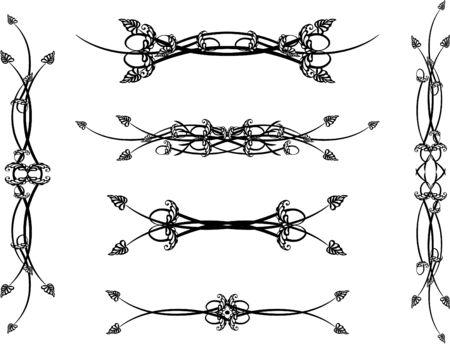 Set of patterns for design eps8 Stock Vector - 4225080