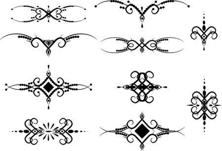 Set of patterns for design eps8 Stock Vector - 4225082