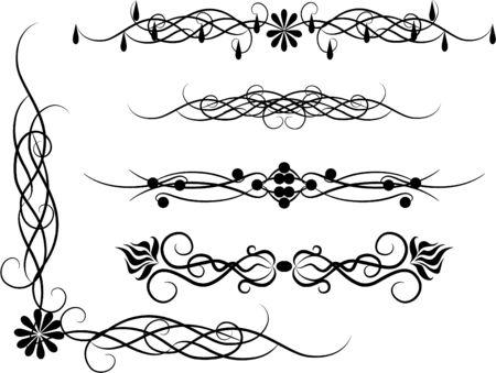 Set of patterns for design eps8 Stock Vector - 4225056