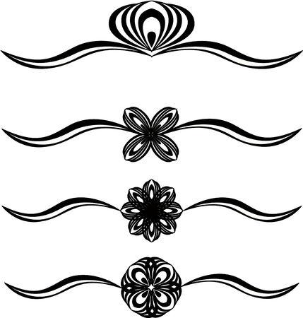 Set of patterns for design eps8 Vector