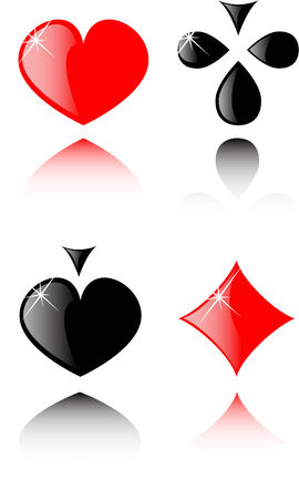 vector play card set 8 Vector