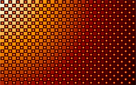 red and gold vector abstract background Vector