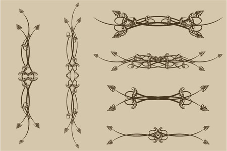 Set of patterns for design eps8 Stock Vector - 4402922