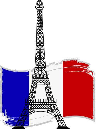 built tower: el vector de la Torre Eiffel