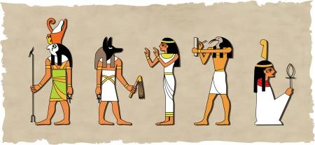 el vector de dios egipcio