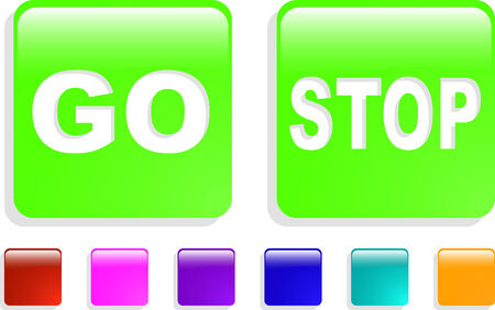 the color vector web icon set 8 Vector