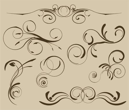 Set of patterns for design eps8 Stock Vector - 4775526
