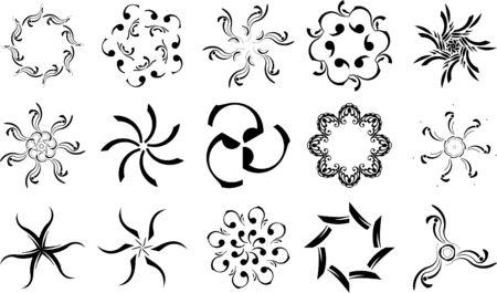 Set of patterns for design eps8 Stock Vector - 4775536