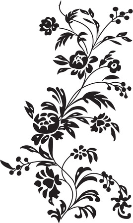 the vector floral background 8 Stock Vector - 4852992