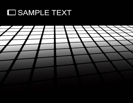 fragmentation: the black and white vector abstract background