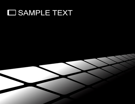 vanish: the black and white vector abstract background