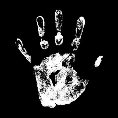 vector hand print Vector
