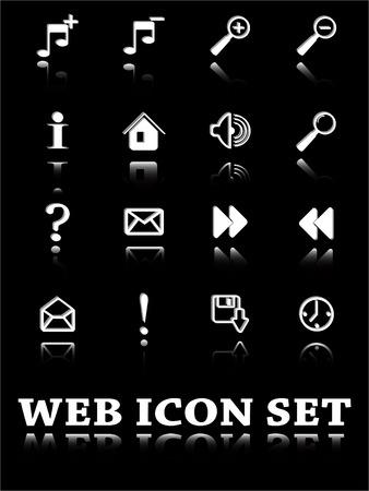 the vector set web icon   Vector